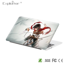 Self adhesive decal computer book skin for macbook pro 17 inch sticker