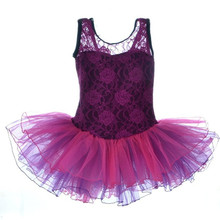 High-end Clothing Manufacturers Hollow Out Beautiful Children Festival Dress Kids Flower Lace Dancing Dress D2607
