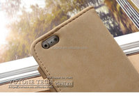 new booklet phone case / wholesale flip genuine leather wallet case for iphone / case cover for iphone