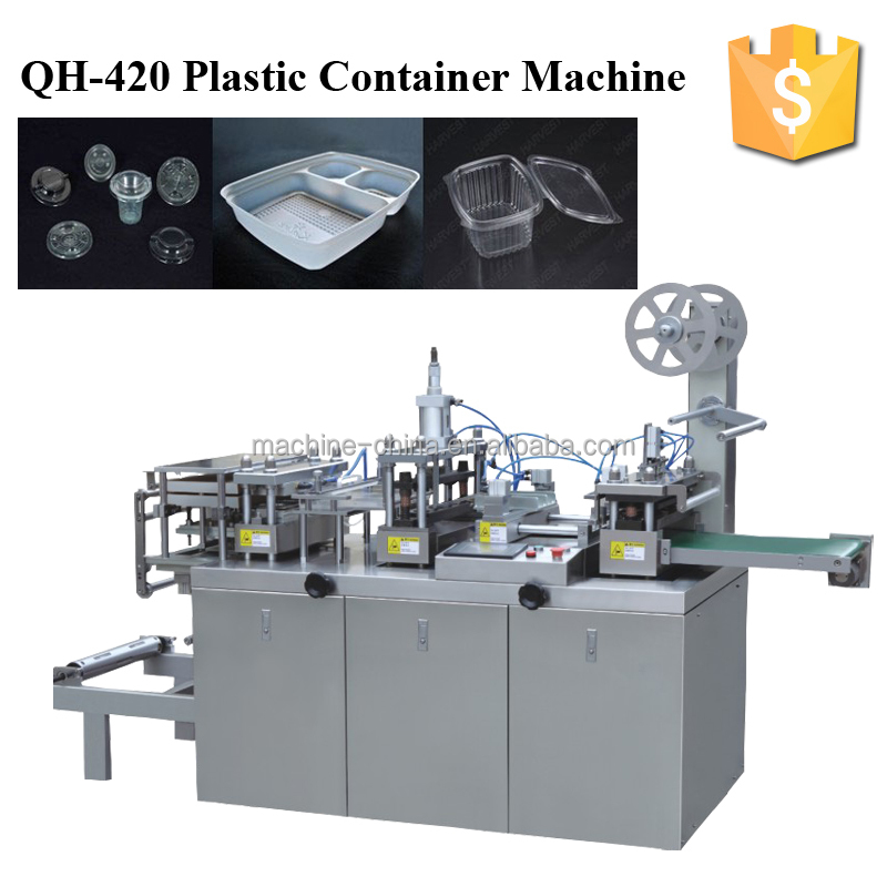 QH-420 Plastic Container Making Machine