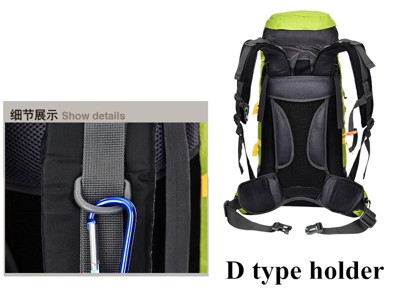Attractive Cool Design of Hiking Bags for Adults Camping Hiking Backpack for Outdoor