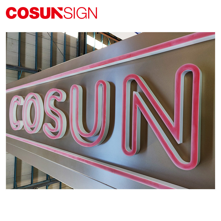 2019 China popular neon letter/custom high quality neon lighted sign