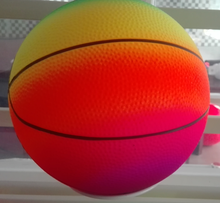 Rainbow Color PVC Basketball/Playground ball/Vollyball