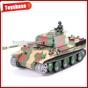 1:16 rc Infrared Germany panther G heavy stype smoking diecast tank model