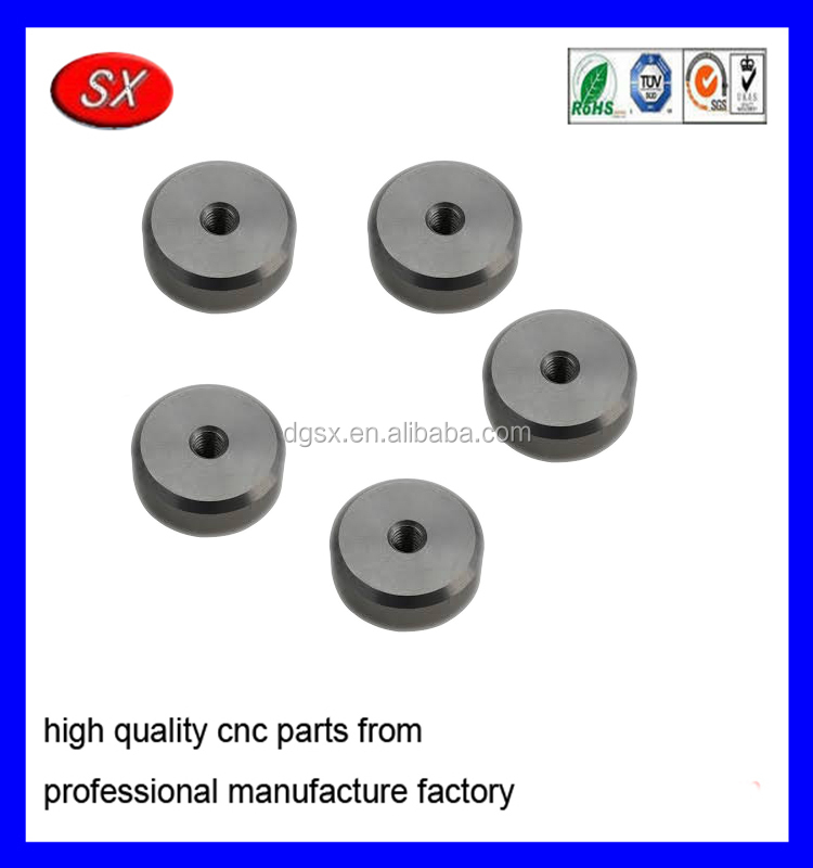 custom metal parts for rc car 6061 alloy metal part Aluminum Mount Puck part