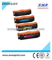 China Supplier for Premium laser toner cartridge for HP toner CE410A Series