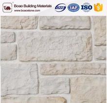 Solid surface faux cultured stone veneer wall tiles block for decor the wall