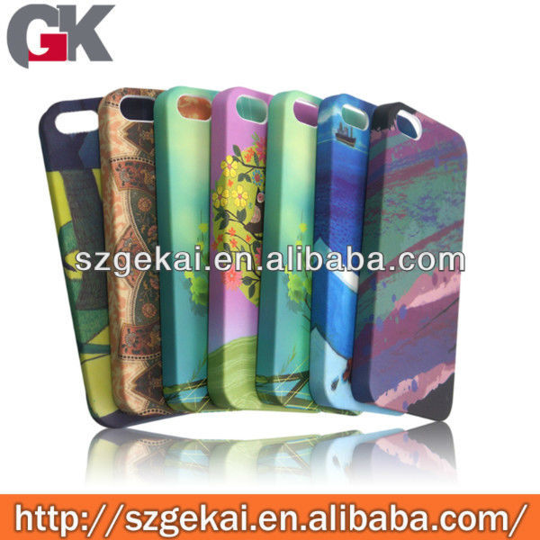 water transfer printing cell phone case for iphone 5s recycled