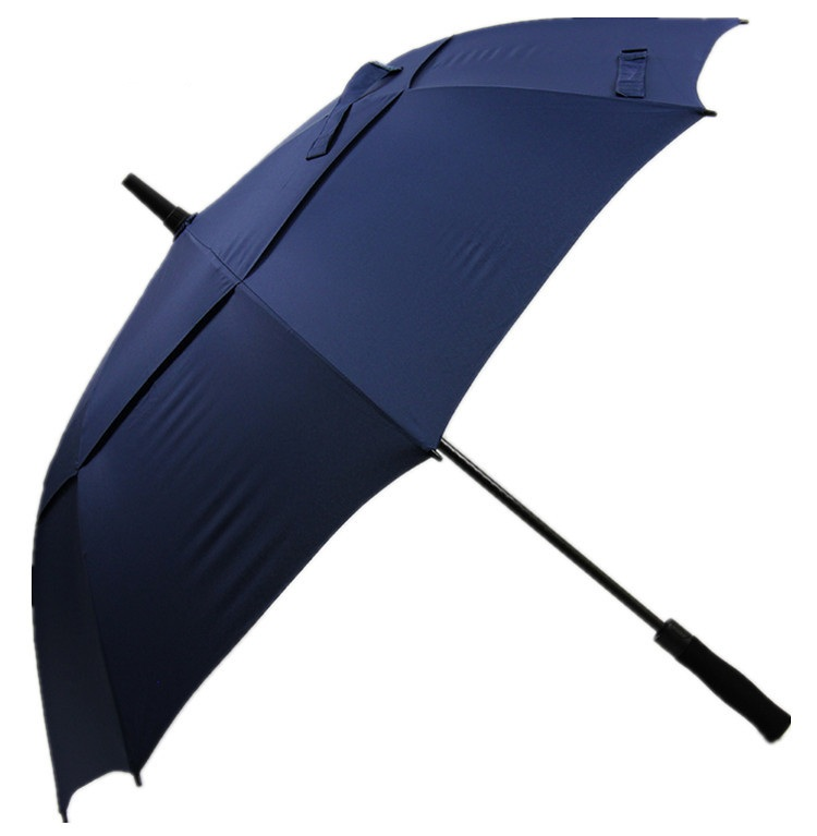new 2016 promotion pure color outdoor golf rain umbrella on sale,top trade in April outside golf umbrella factory promotion