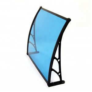 New style Decorative Windproof metal awnings for Terrace