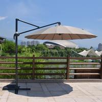 Outdoor Parasols Mini Roma ALuminum Umbrella With Marble Base