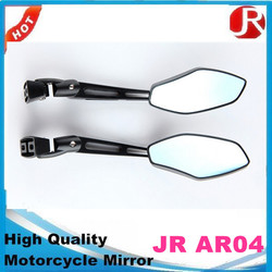 High quality Racing Bike Side View Convex Lens Universal Motorcycle Aluminum Rear View Mirror