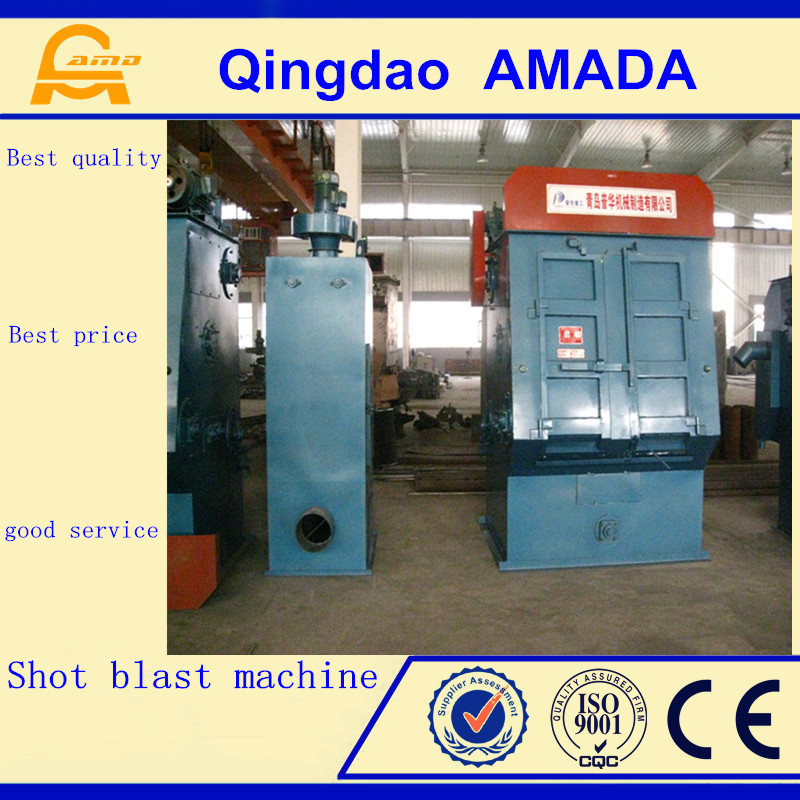 For Small Forging Surface Cleaning Q32 Series Shot Blasting Machine