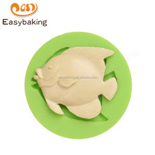Manufacturer supply new arrival custom made 61*14 ocean fish silicone molds