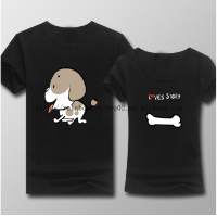 dry fit printed brand love couple t-shirt design manufacturers in china