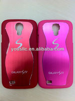 Bling S Line Aluminium Chrome Hard MOBILE PHONE CASE Cover for Samsung galaxy s4 i9500