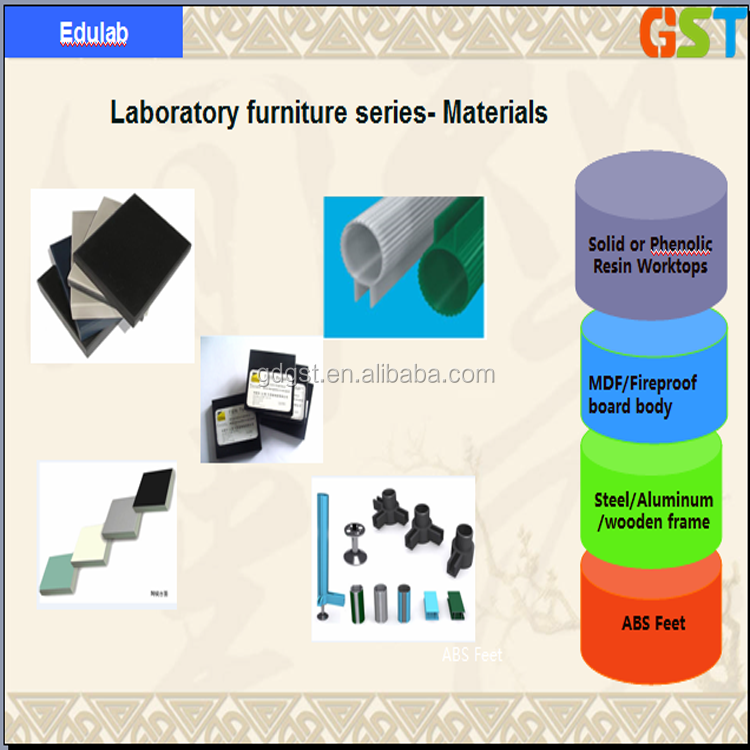 High Quality Chemical Lab Bench Table