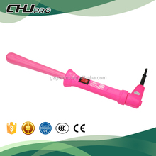 lcd triple barrel hair curlers 3 in 1 hair styler