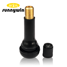 Sunnywin tubeless aluminum natural rubber tire valve tr414