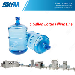 Automatic Bottled Spring Water 5 Gallon Bottling Plant Sale Price Cost
