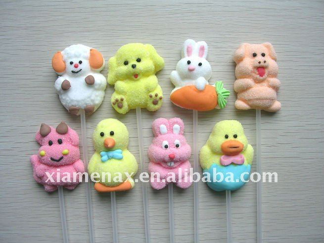 Hot selling animal marshmallow