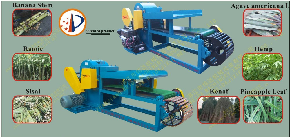 Marketing Machine Reliable hemp decorticator kenya sisal fibre extraction machine