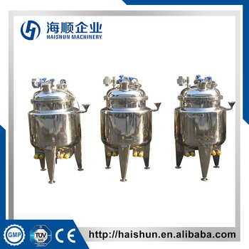 Side Mixing tanks using Electric heating