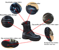 classic version army-spec tactical operation flexible military boots for elites