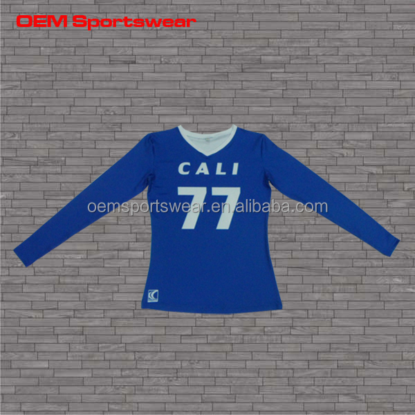 Profession custom sublimated athletic volleyball wear