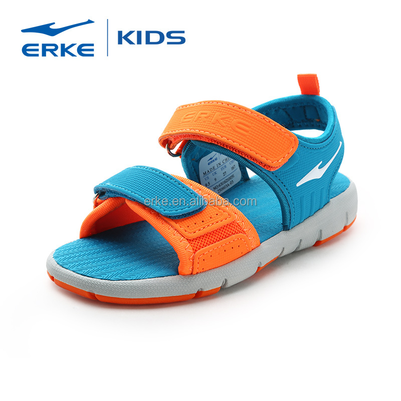 ERKE china wholesale dropship children fancy sandals with adventure seeker two-strap (Little Kid/Big Kid)