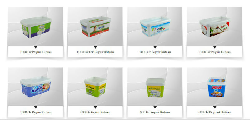 PP Polypropylene plastic box for cheese Cheese Box Cheese Container Made in Turkey by ALDERA QUALITY AND GUARANTEE