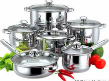Best Selling Stainless Steel Cookware Set Kitchen Pot and Pan Sets, Cookware Set