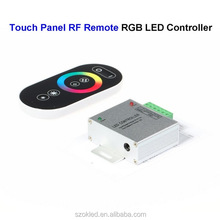 DC12V RGB LED Controller Wireless Touch Panel Screen RF Remote Control For SMD 5050 3528 5730 LED Rigid Strip