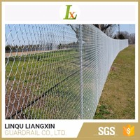 Onsite QC Strong Customizability Chain Link Galvanized Fence