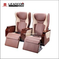 Leadcom luxury leather coach seat vip for sale CK31