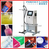 LCD touch Portable date/ numbers/wire/plastic bag/ packaging pigment inkjet printer