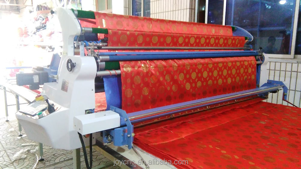 Air floating table woven fabric spreading machine used for apparel/shoes/car seat