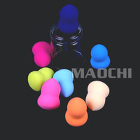 colorful good for health cosmetic powder puff sponge makeup beauty products