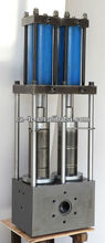 plastoc extrusion hydraulic double pillar/column screen changer