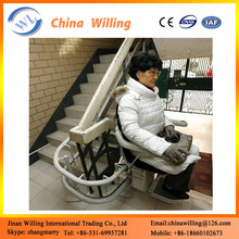 Curved Rail Chair Stair Lift China Electric Chair For Stair