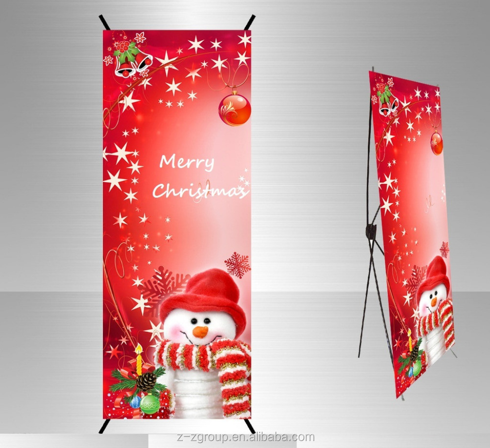 Big Size X-Banner For Outdoor Advertising Trade Show