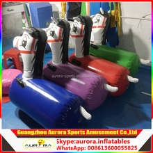 Custom adults and kids inflatable pony toys sport jumping horse for sale