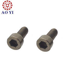 Hex socket head titanium dental implant screws