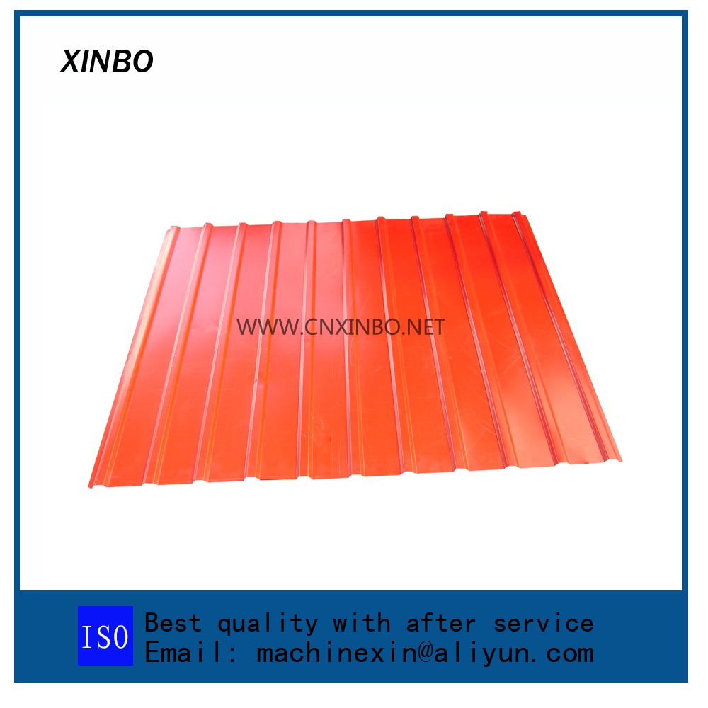 Metal Roofing Galvanized Aluminum Corrugated Steel Sheet Making Machine decorative wall panel