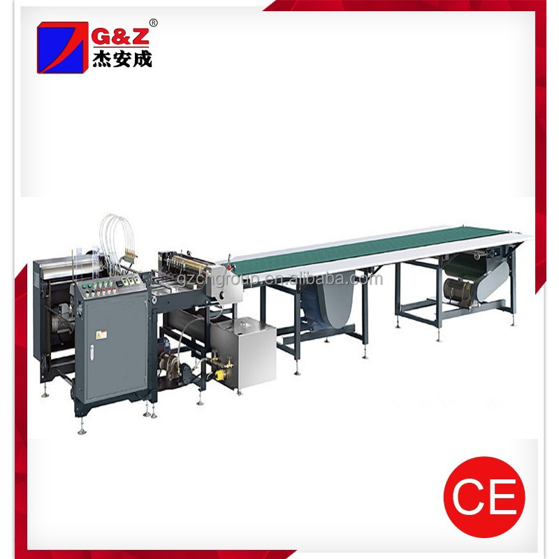 Automatic delivery and gluing machine