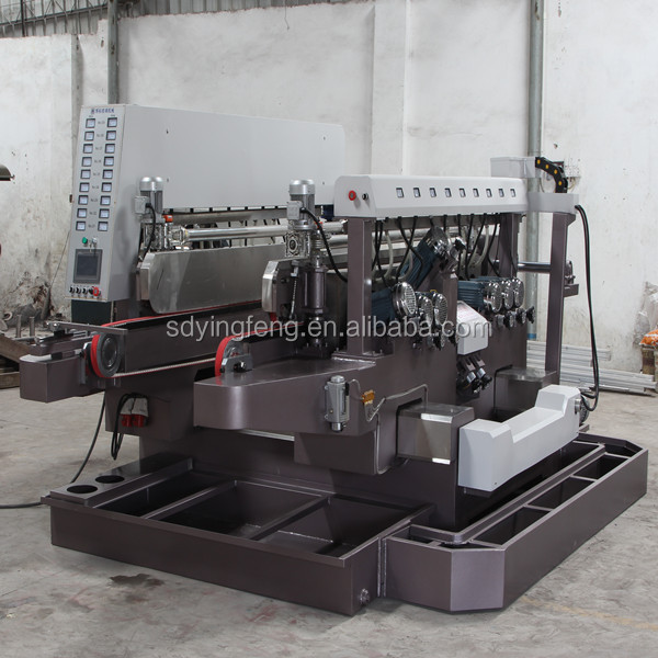 JFD-08 March Expo Glass double side edge grinding and polishing machine