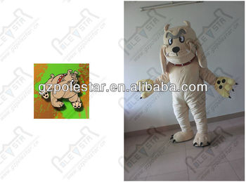 custom Chinese Shar Pei dog mascot costumes