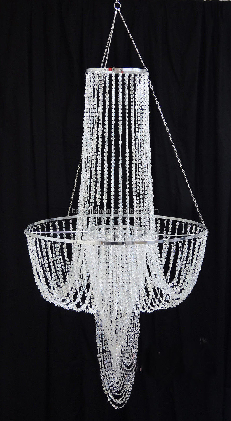 wedding wholesale acrylic beaded chandelier buy