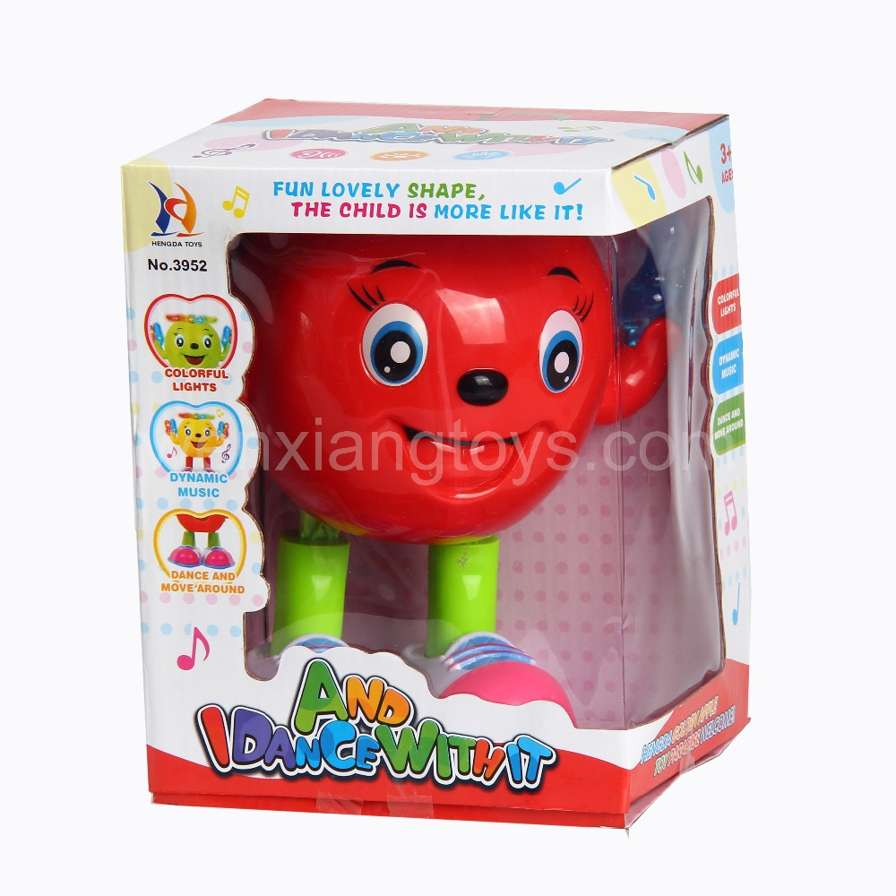 Christmas Toys Dancing Apple Doll Action Figures with music