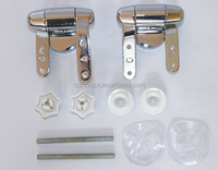 Soft close ABS material hinges